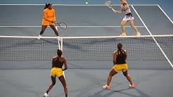 Serena/Wozniacki vs. Townsend/Muhammad | 2020 ASB Classic Doubles Final | WTA Highlights