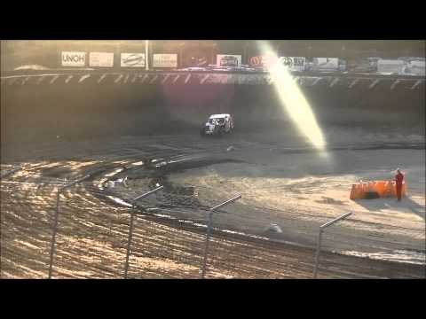 Limaland Motorsports Park Modified Heat #2  7-24-15
