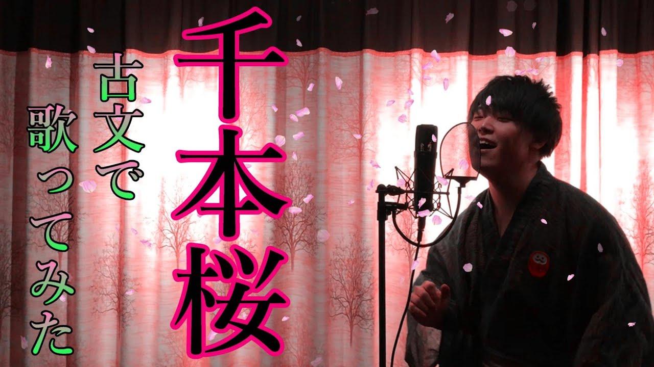 【国文科卒が古文で歌ってみた】千本桜 / 初音ミク (covered by かずみん)