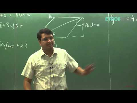 Alternating current (AC) by Nitin Vijay (NV) Sir (ETOOSINDIA.COM)