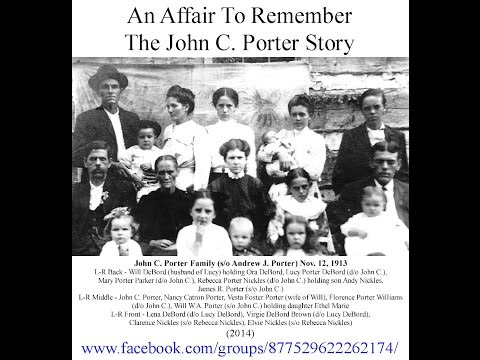 An Affair to Remember - The John C. Porter Story