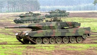 German Military put a SHOW OF MILITARY POWER with their Leopard 2 Tank