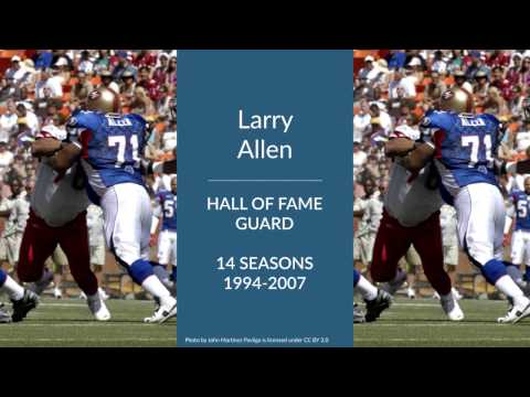 Larry Allen: Hall of Fame Football Guard
