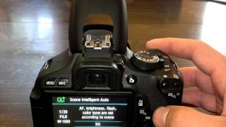 How To Open Flash on DSLR