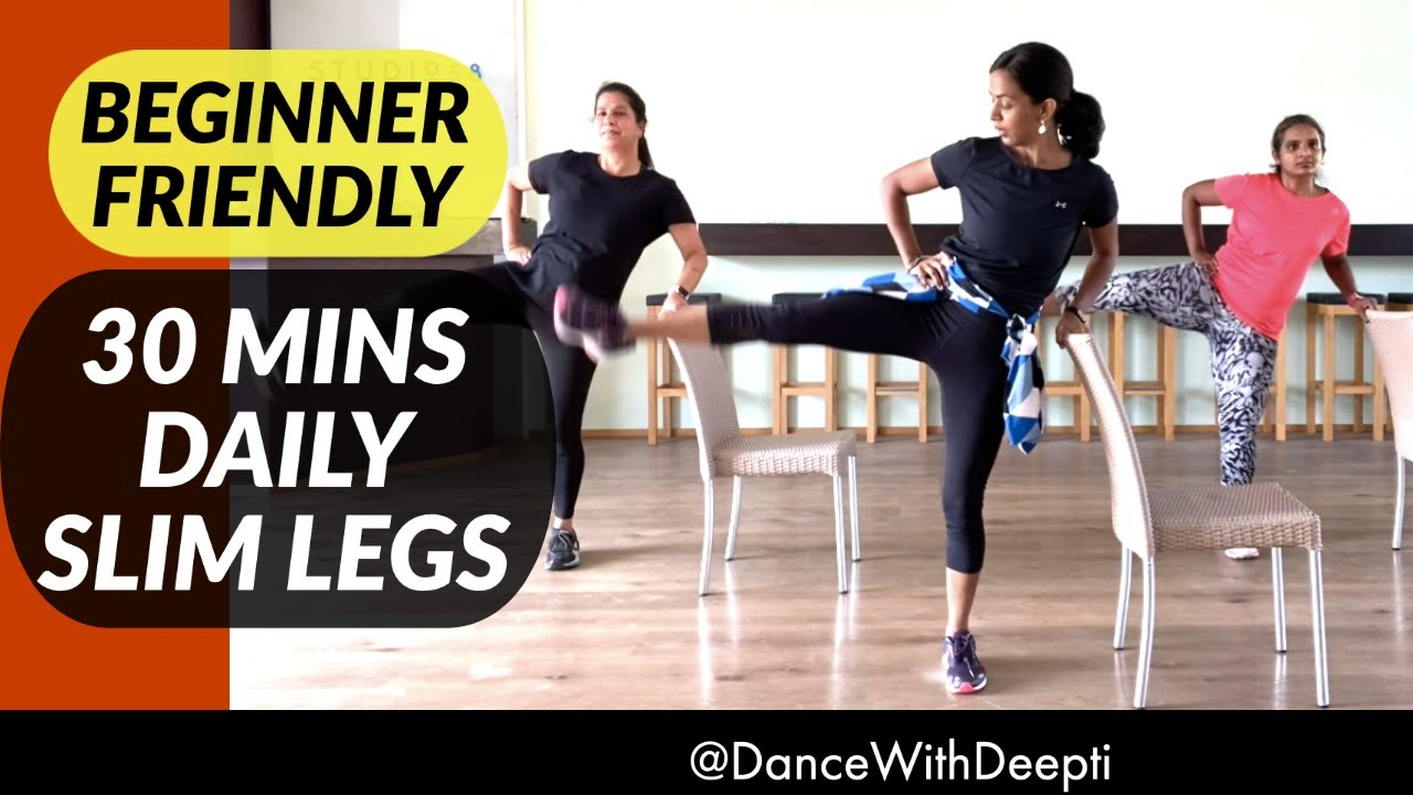 30mins DAILY SLIM LEGS WORKOUT - Beginner Friendly - Easy Workout to Lose weight 3-5kgs