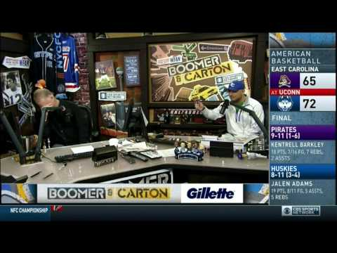 Boomer and Carton - Craig goes on NY Jets Rant