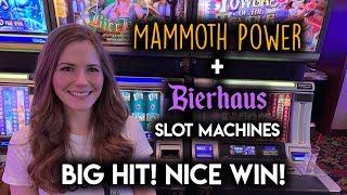 Mammoth Power + Original Bier Haus Slot Machine! Super Fast WIN!