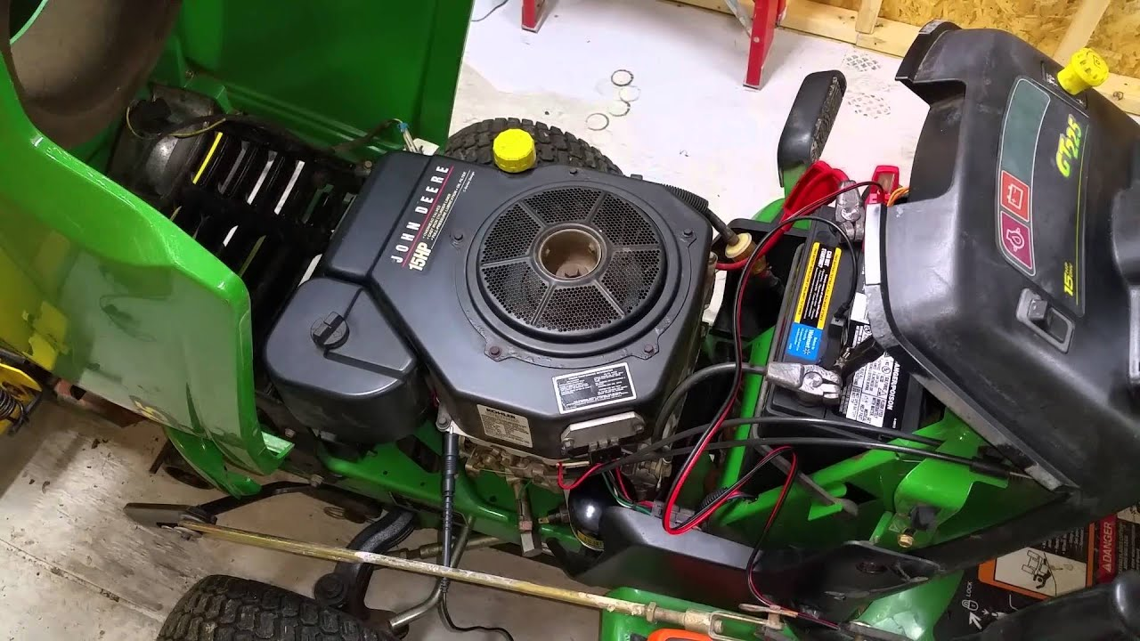 John Deere Gt225 Problem Solving Overview Youtube Gt235 Wiring Diagram