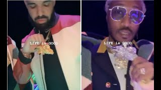 Drake & Future Get Matching Chain For