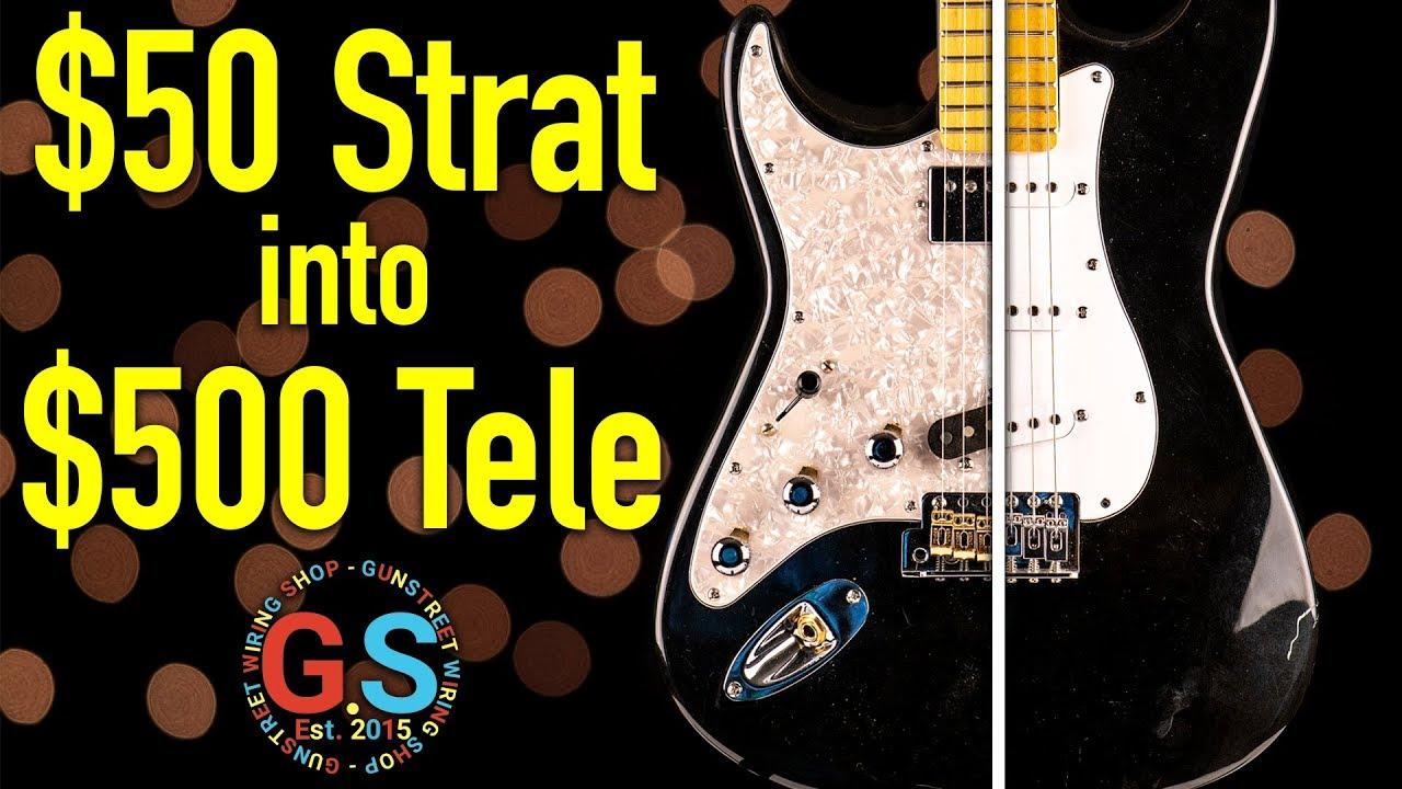 Upgrading a Cheap Guitar | Gunstreet Shop Build Ep 4