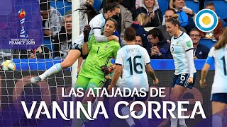 Vanina Correa - Resumen de atajadas ante Inglaterra - Mundial de Fútbol Femenino FIFA 2019