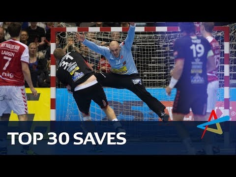Top 30 handball saves of the 2017 VELUX EHF Champions League