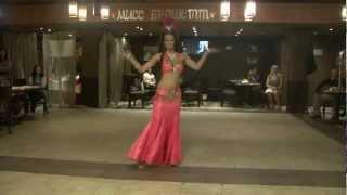 Виктория. восточный танец -