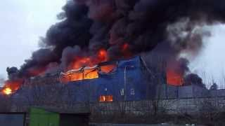 Пожар в Королёве