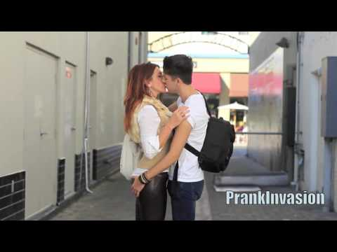 Kissing Prank   Secret Handshake