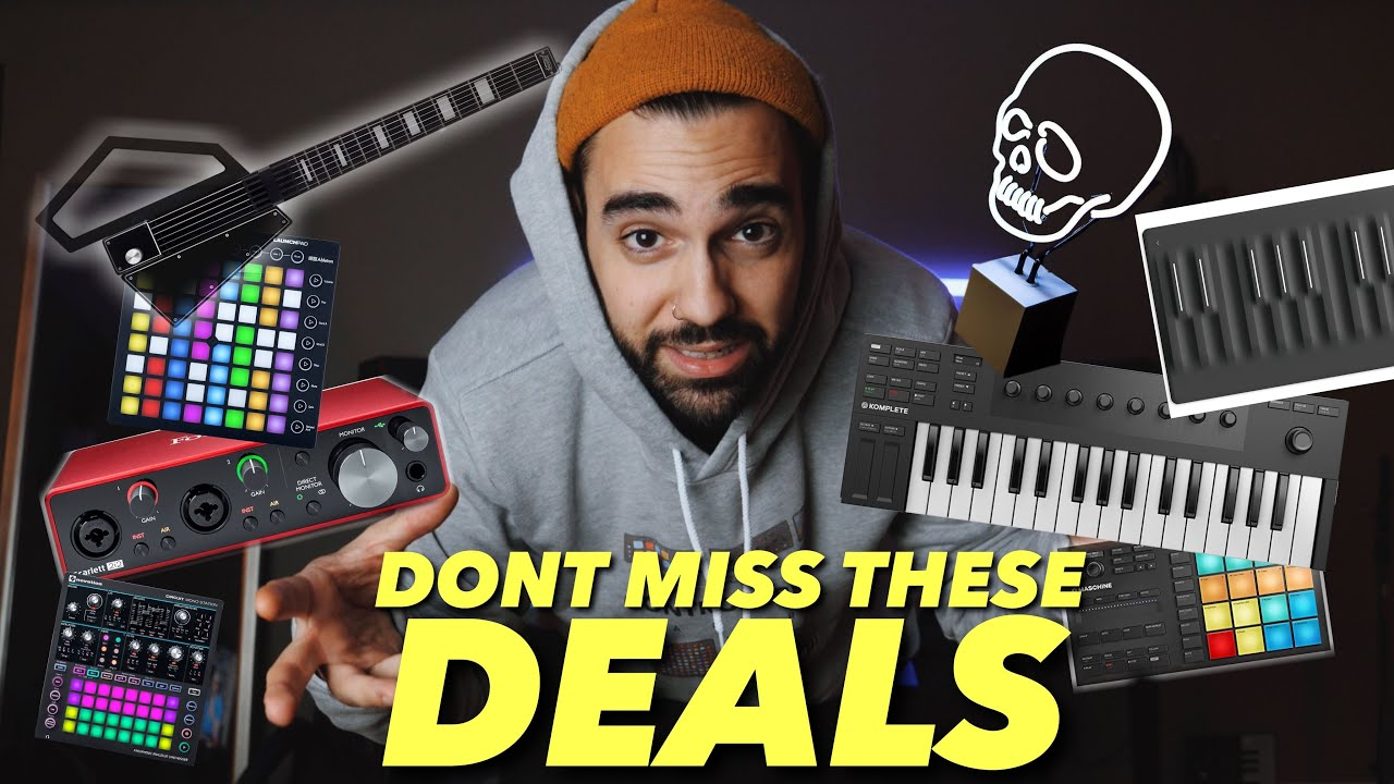 BLACK FRIDAY MUSIC PRODUCER DEALS 2019!