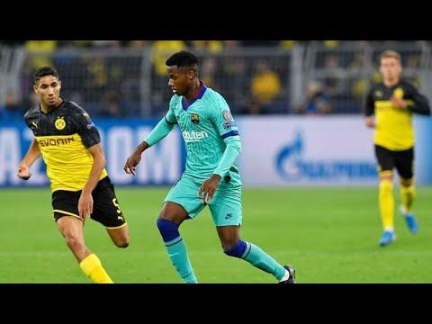 Download ANSU FATI vs Borussia Dortmund (17-9-2019) HD-2019