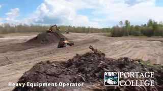 Heavy Equipment Operator - Portage College