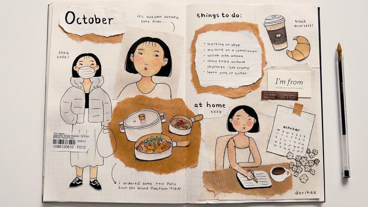 art journaling on a budget 。