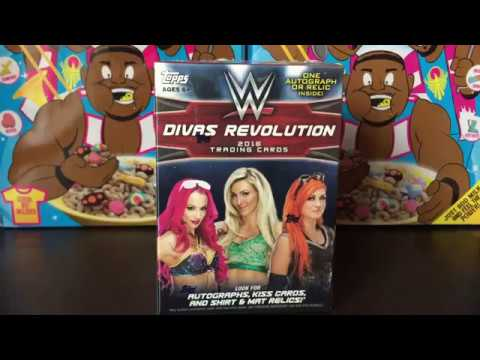 WWE Divas Revolution Blaster Box Break!! #8