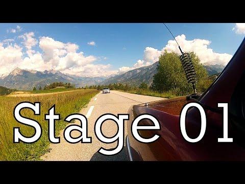 Stage 01 - Les Bonnets to La Condamine Châtelard  - The Retro Lab's Monte Carlo Rallye