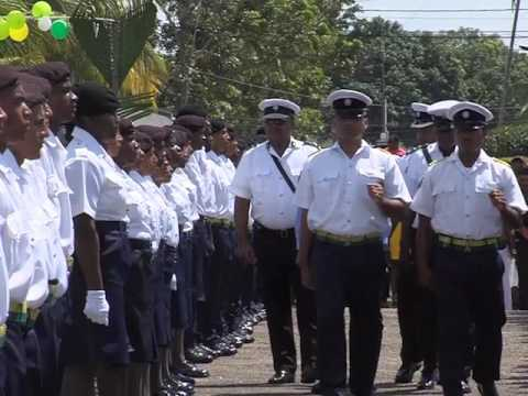 Police Graduate New Recruits at Passing Out Parade