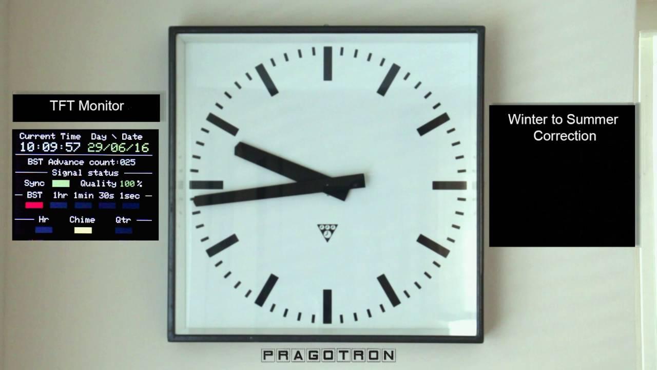 Pragotron_Clock