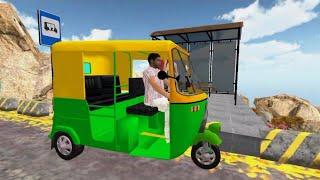 Auto Tuk Tuk Rickshaw Driving Simulation Gameplay (Android/iOS) screenshot 4
