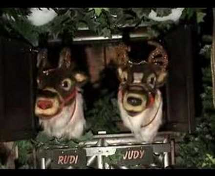 animatronics christmas reindeer decoration from kd decoratives - Animatronic Christmas Decorations
