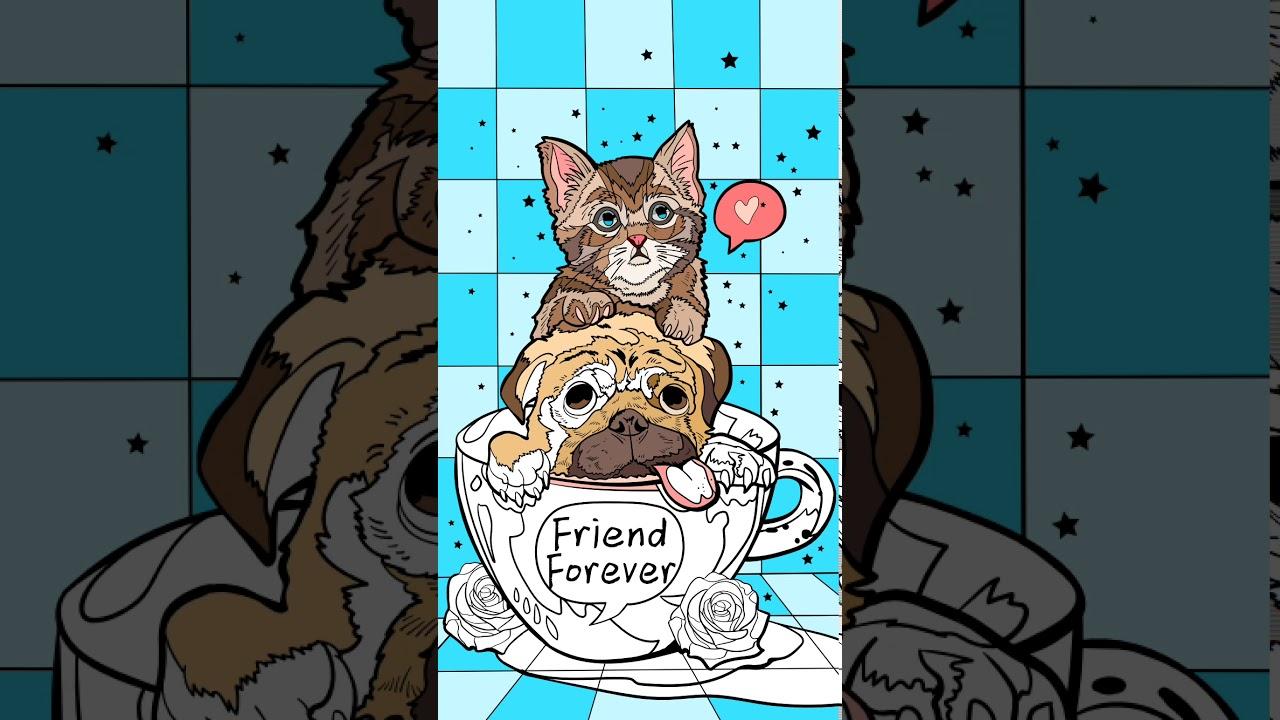 Собака и кот - YouTube