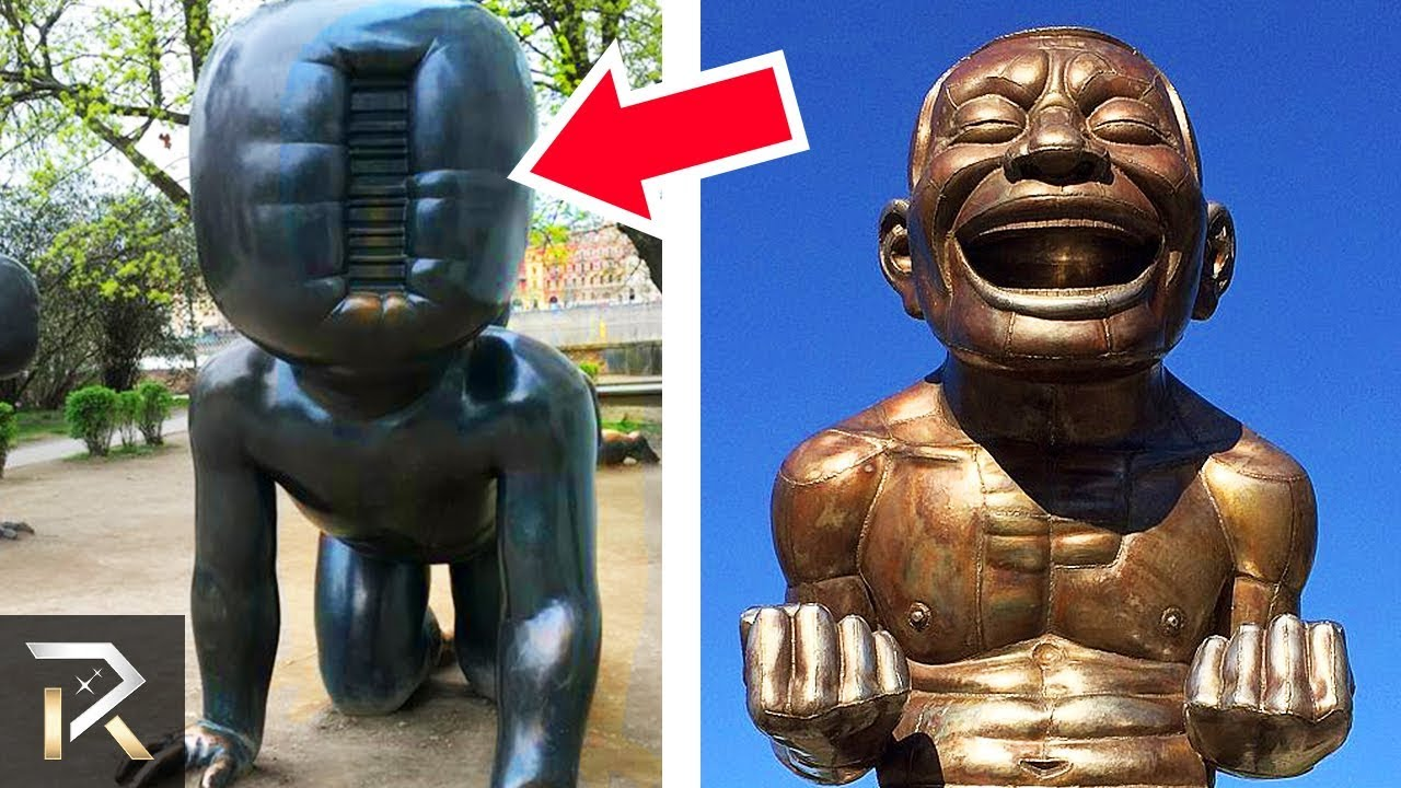 10 Strangest Statues In The World