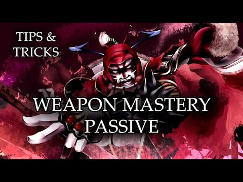 Tips & Tricks - Weapon Mastery Passive - RPG Maker MV