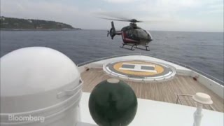 How to Land a Helicopter on a Yacht