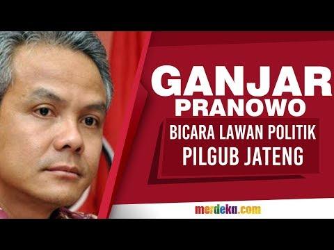 Ganjar Pranowo bicara lawan politik di Pilgub Jateng