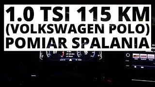 Volkswagen Polo 1.0 TSI 115 KM (AT) - pomiar zużycia paliwa