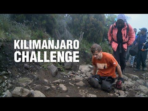 Kilimanjaro Challenge: three disabled men reach the top of Mount Kilimanjaro