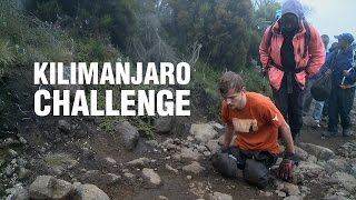Kilimanjaro Challenge: three disabled men reach the top of Mount Kilimanjaro