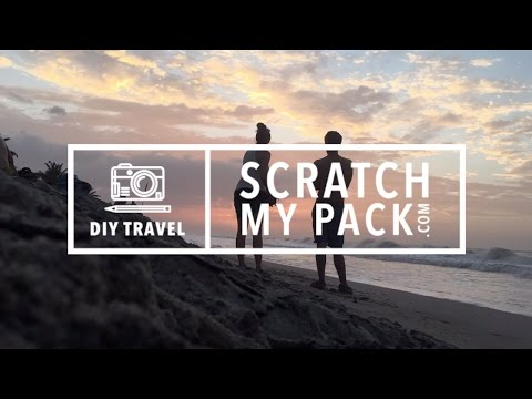Scratch My Pack Traveled South America