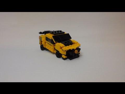 Instructions Lego Transformer Tlk Bumblebee Youtube