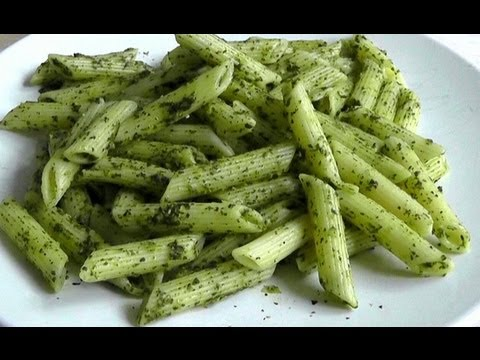 Pasta with Mint Basil & Lemon Sauce How to cook healthy recipe