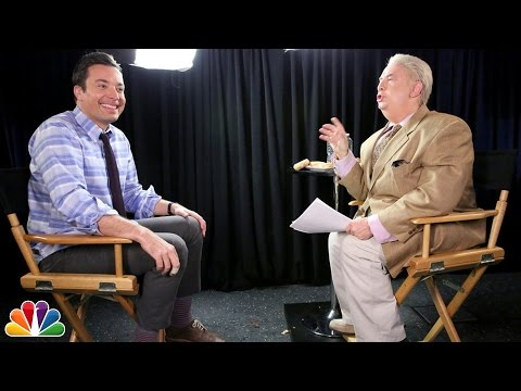 """Talk of the Town"" with Jiminy Glick and Jimmy Fallon"