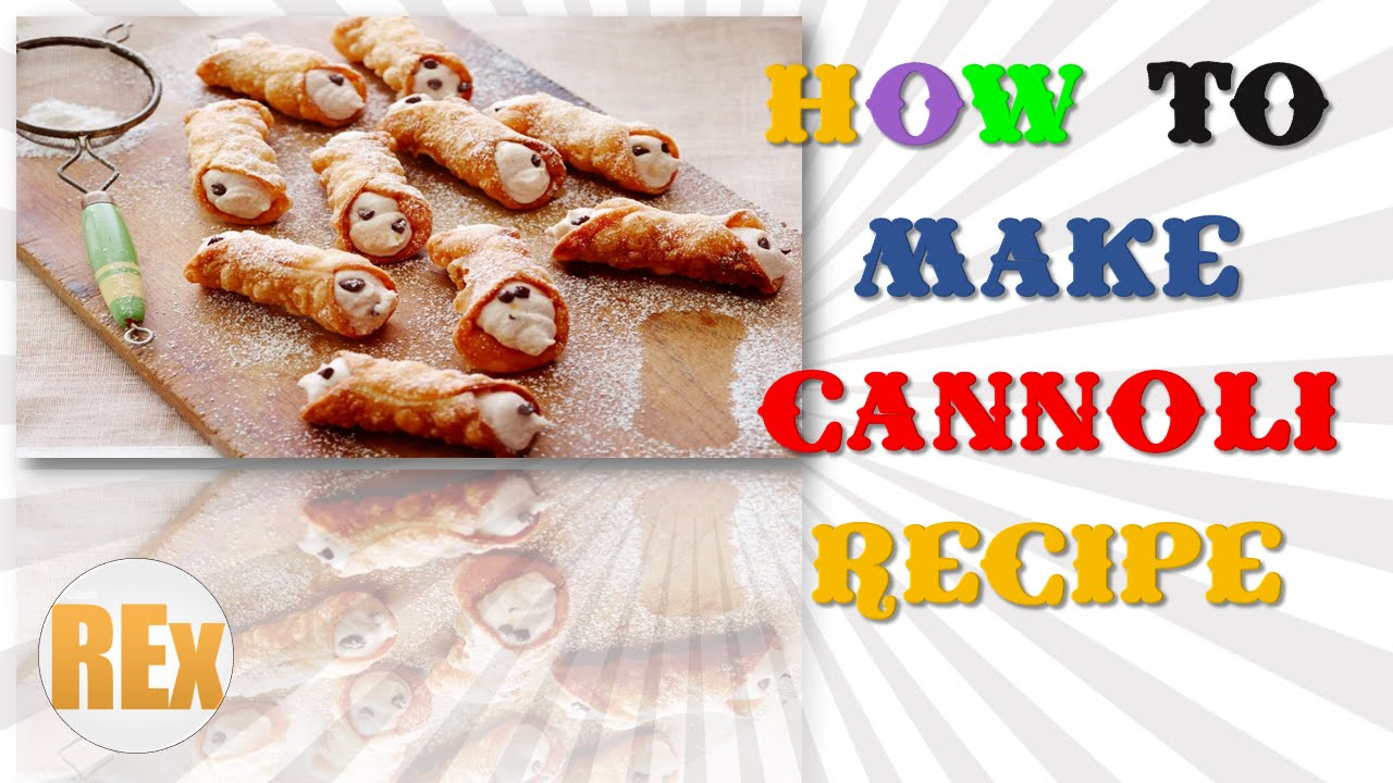 Fast easy cannoli recipes