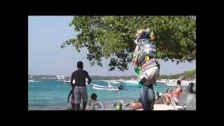 Playa Blanca isla de Baru Cartagena Colombia  HD