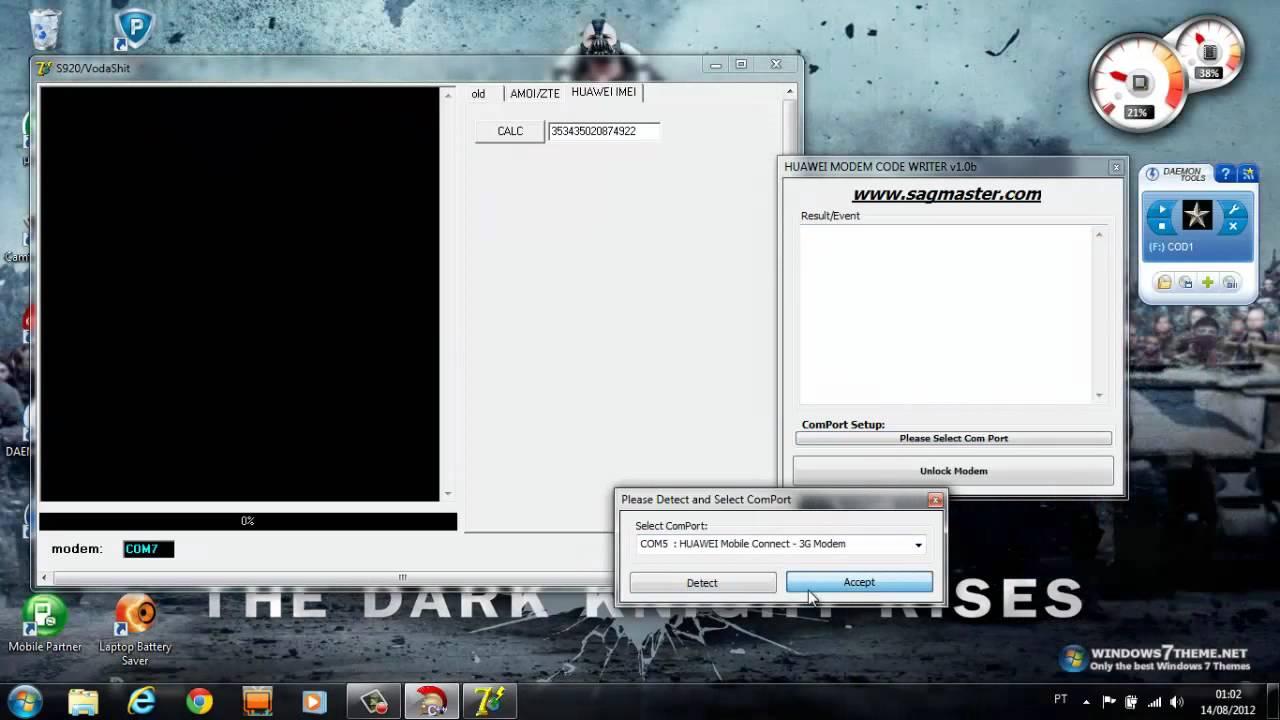 programa para desbloquear modem 3g