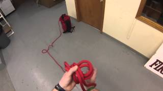 PRI; Double Loop Figure Eight Knot