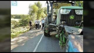 Accident de tracteur 2016