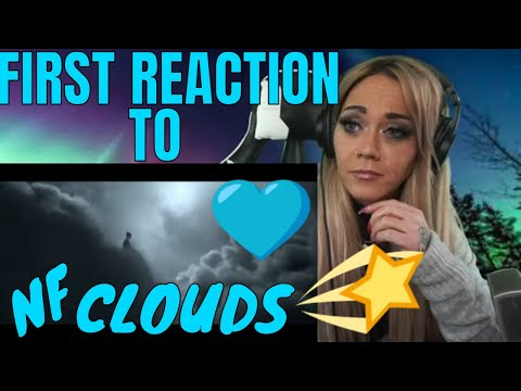 NF CLOUDS MY FIRST REACTION | JUST JEN GETS HIP TO NF | JUST JEN REACTS TO NF CLOUDS