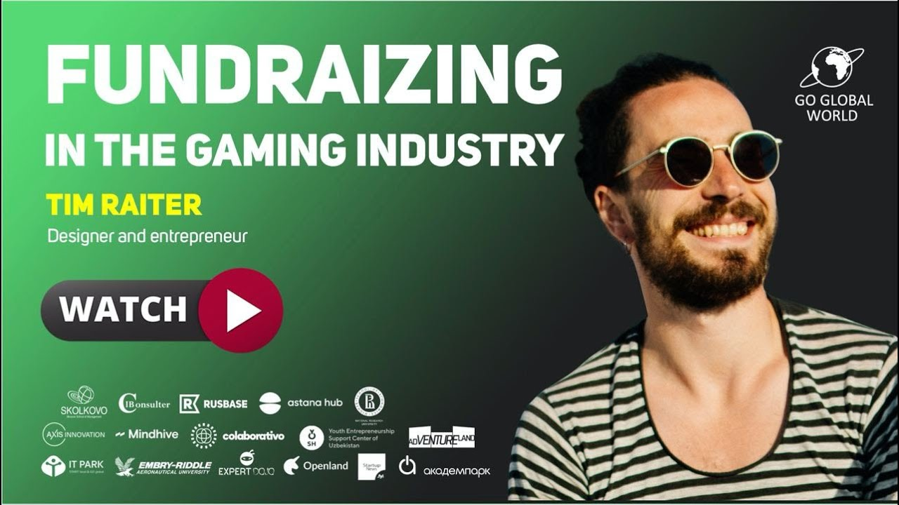 #45 FUNDRAIZING IN THE GAMING INDUSTRY. TIM RAITER and VITALIY URBAN