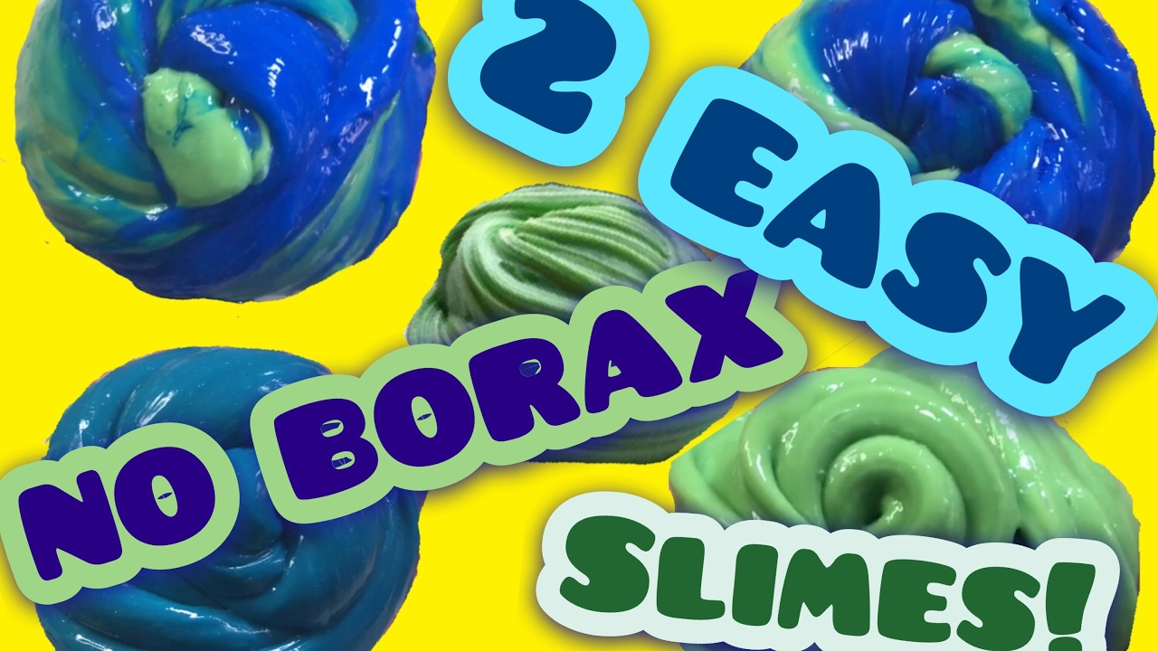 2 Easy How To Make Slime With Everyday Home Ingredients, How To Make Slime  Without Borax!