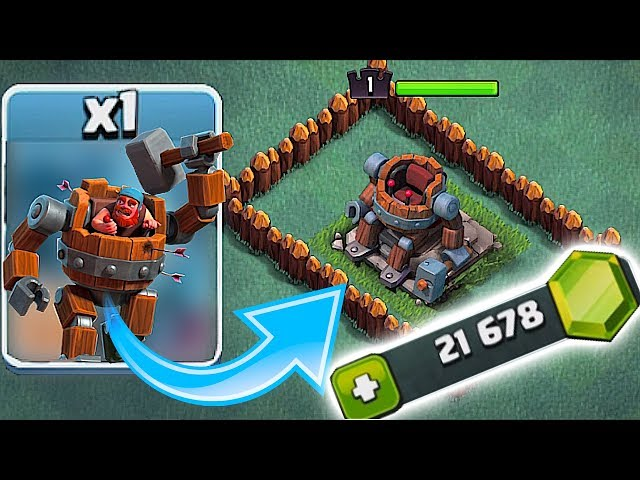WE DID IT!!🔸UNLOCKED BATTLE MACHINE!!🔸Clash Of Clans